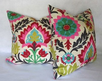 Santa Maria Desert Flower Pillow Cover