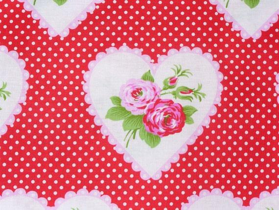 Valentine Fabric / Valentine Rose / Tanya Whelan