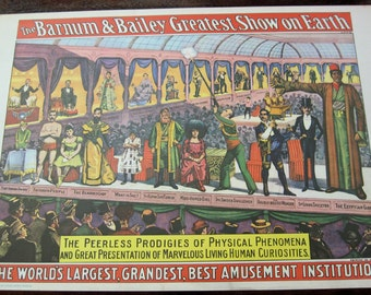 Set of 4 Different 1960 Circus World Museum Posters
