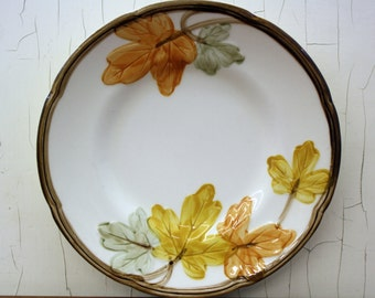Vintage Franciscan 'October' Bread & Butter Plate w/Fall Leaves (E4715)