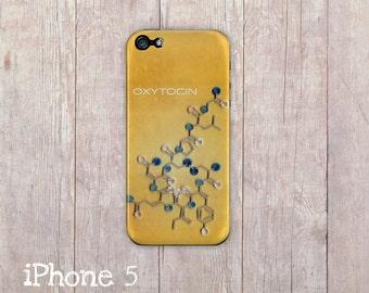 Oxytocin Molecule iPhone Case, iphone cover, iPhone 6, iPhone 5 case, iPhone 4 hard case, Paper Quilling, paper art print