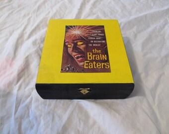The Brain Eaters Horror Keepsake Jewelry Stash Box