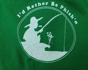 I'd Rather Be Phish'n, Phish Onesie, Unisex baby, Phish baby
