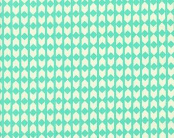 Moonlit Arrows in Mint, Rashida Coleman Hale, Cotton+Steel, RJR Fabrics, 100% Cotton Fabric, 1906-001