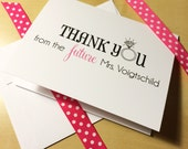 Bride to Be Thank You Cards