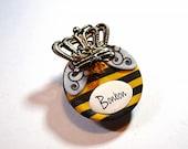Queen Bee Custom I.D. Dog Tag / Pet Tag