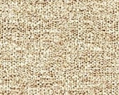 Two Tone Plain Dobby Weave - Work Horse Upholstery Fabric - High Performance Fabric - Color: Straw -  1 yard