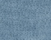 Plain Weave Super Soft Durable Chenille for Upholstery - Contemporary to Traditional Solid Upholstery Fabric - Color- Sky