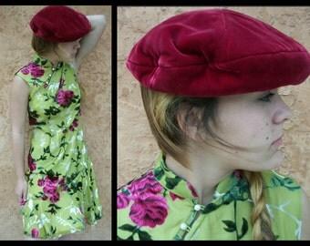 SALE Chinese Velvet Burnout Dress Small Medium - Fun Flirtatious French Asian Fashion Plush Velvet Silk