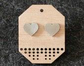 The Heart Earrings