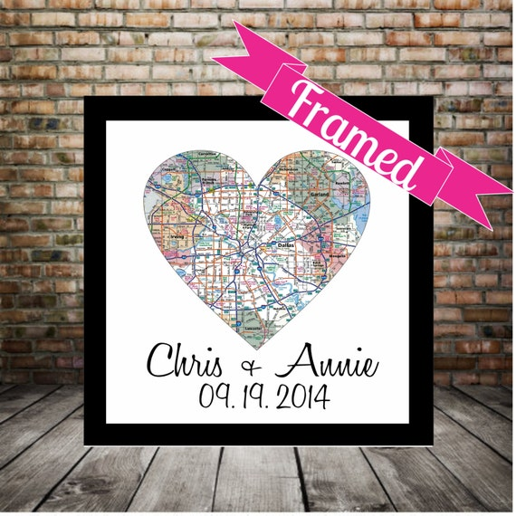 Wedding Gifts For Parents Nz : Art Gift for Parents Personalized Wedding Gift FRAMED Print Wedding ...