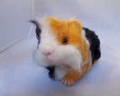 Needle Felted Guinea Pig, Made to Order, OOAK, by Grannancan