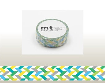 mt SLASH GREEN Washi Tape (10M)