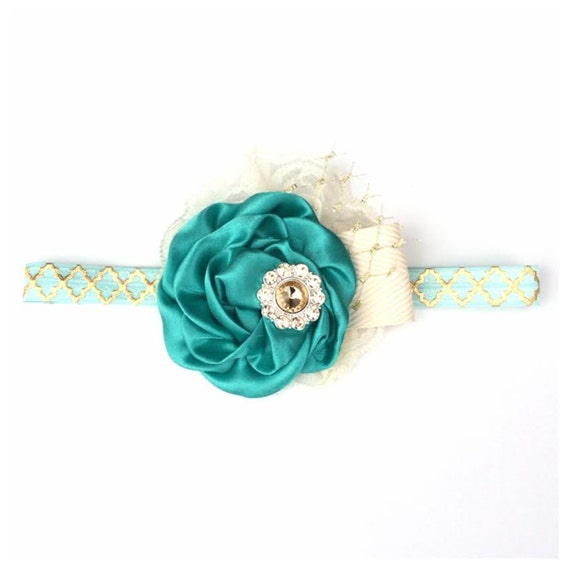 Disney Collection - Princess JASMINE Can Can Headband- Disneyland Disney, Aladdin, Princess Spring, Summer, Newborn, Photo prop