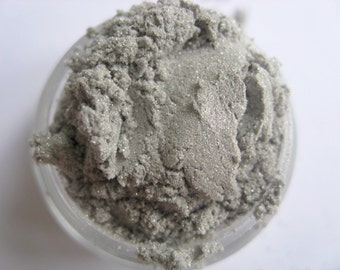 Mineral eyeshadow - SILVER - P40 - Vegan - Natural makeup
