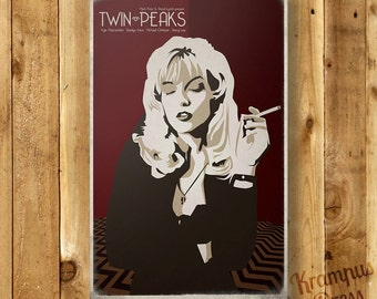 Twin Peaks - Laura Palmer - Movie Poster - David Lynch - Fire Walk With Me