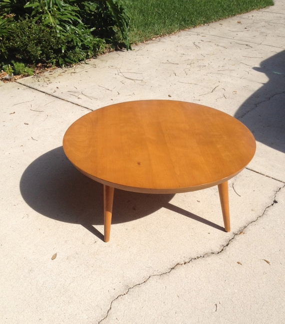 The Big Ball Coffee Table: RESERVED Russel Wright For Conant Ball Coffee Table By