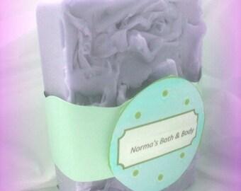 Blackberry Soap- Glycerin Soap- Fruity Soap- Handmade Soap- Purple- Soap