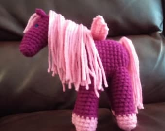 PDF Pattern to create 3 different crochet HORSE patterns