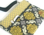 Wacom Tablet Case Bag, Victorian Intuos Graphic Tablet Bag, Wacom Intuos Tablet Cover, Yellow Wacom Bamboo Cover, Monogram Bamboo Create