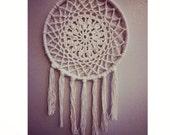 Crocheted Dream Catcher