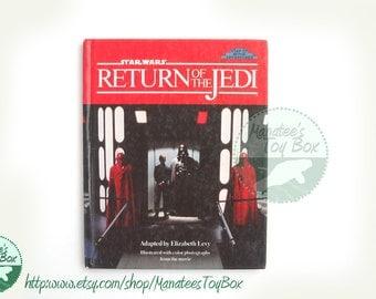 Vintage Star Wars Return of the Jedi Book Hardcover 1980s