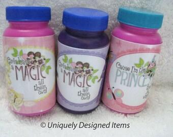 Princess Party Favors - Customized Party Bubbles - Party Favor Bubbles- personalized and custom design