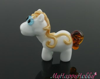 Horse  Lampwork  Bead
