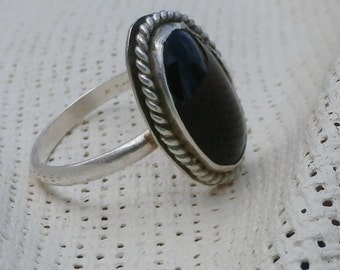 Black Onyx Ring - Made To Order