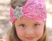 Wildflower Shabby Bohemian Headband
