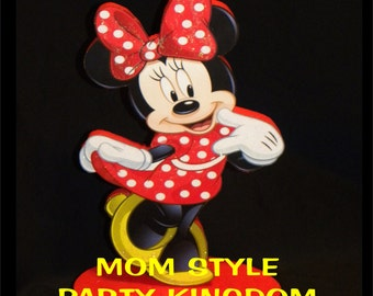 Minnie mouse birthday party centerpiece  - rd