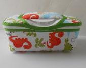 Baby Wipes Box Dinosaur Print Nursery Wipes Container