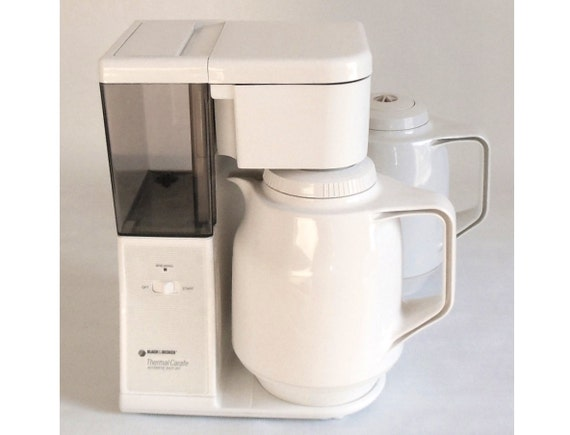 Thermal Coffee Maker Black And Decker : Black Decker Coffee Maker TCM411 Thermal Carafe
