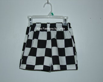 Checkered shorts | Etsy
