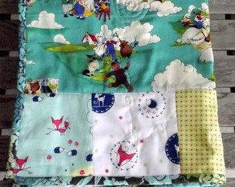 Easy As Pie Stroller Blanket Pattern