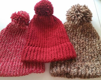 SALE! SALE! SALE!  3   Knit Hat  for Sale!