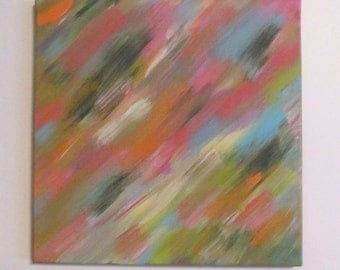 Canvas Art, Canvas Abstract, Abstract Art, Canvas Art Abstract, 12x12 Canvas Abstract