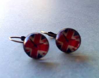 Jewelry, Earrings, Earrings for Women, 3D Resin Earrings, UK, British Flag Earrings