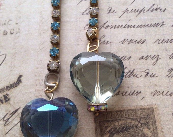 Jewelry, Earrings, Crystal Earrings, Vintage Earrings, Swarovski Earrings, Old Hollywood Glam