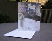 Squirrel Snowball Fight Holiday Cards - Set of ten