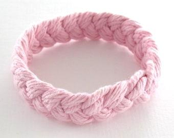 Pink Sailor Friendship Bracelet