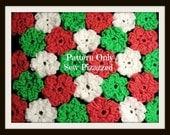 Easy Crochet Flower Blanket Pattern