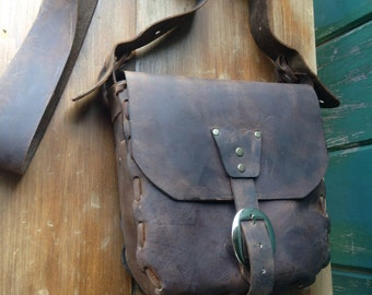 """Leather HoBo Bag """"Adrienne"""" made to order"""
