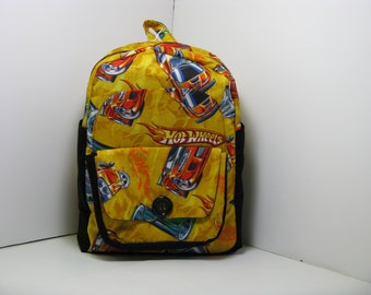 Hot Wheels Preschool Backpack