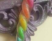 Rainbow Unicorn Horn Necklace