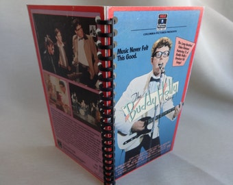 The Buddy Holly Story VHS Box Notebook