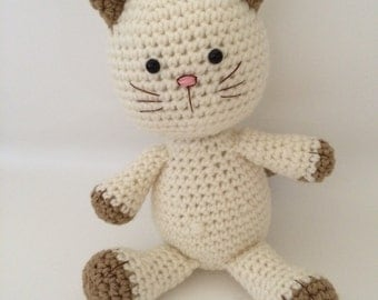 Kitty Abeja Amigurumi : HandSpun Creations by HandSpunCreations on Etsy