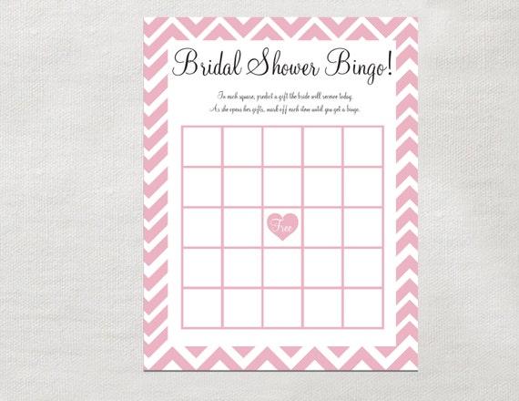 Bridal Shower Gift Bingo Instant Download Printable Bridal