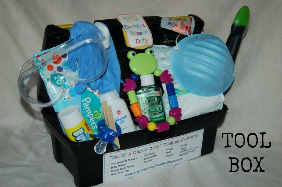 New Dad Baby Shower Gift Daddy S Diaper Duty By Babyshowercafe
