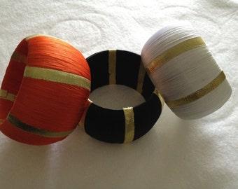 Broad Thread Bangle